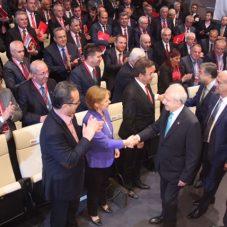 Başkanlar Toplantısında Açılış Tunç Soyer'den