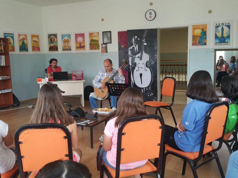 Workshop Günleri Değerli Gitarist ve Akademisyen Ender Bilge İle Başladı
