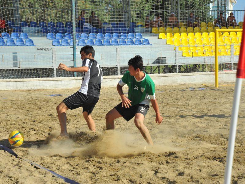 Plajda Şampiyon Manisa