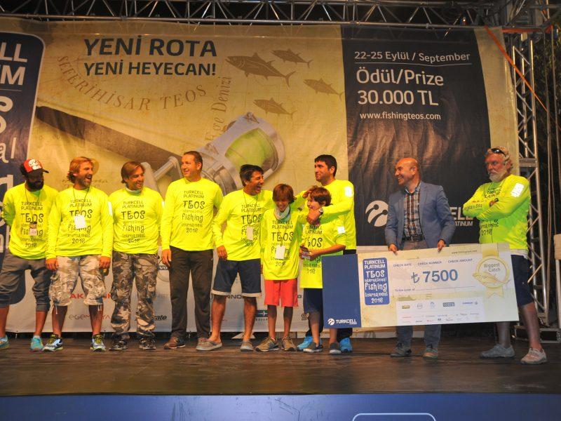 Teos Balıkçılık Turnuvası Tamamlandı
