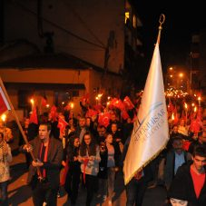 """Binlerce Kişi Haykırdı; """"Atatürk ve Cumhuriyet Sevgimiz Bitmeyecek"""""""