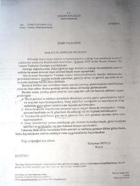 Başkan Soyer'den Yurtdışı Açıklaması