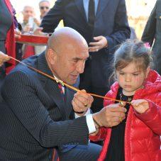 Ulu Önder Atatürk'ün Seferihisar'a Gelişinin Yıldönümü Törenlerle Kutlandı
