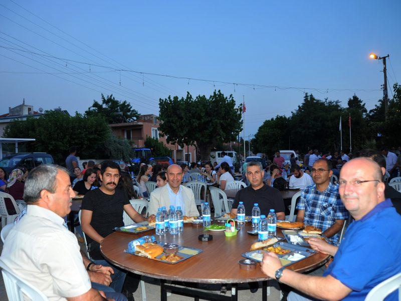 Köy İftarları Turgut'ta Devam Etti