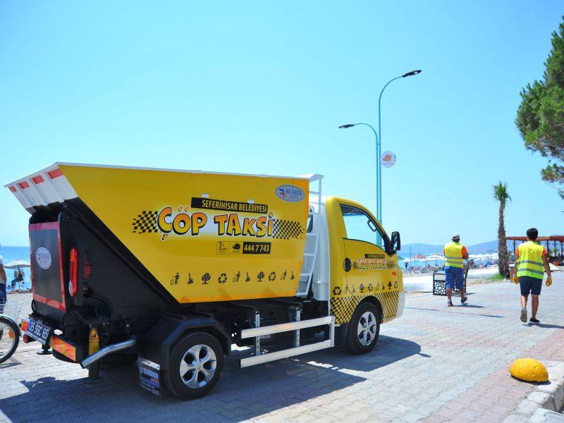 Çöp Taksi Hizmeti Başladı