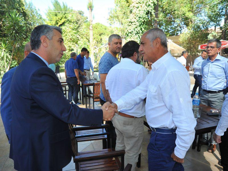 Seferihisar'da Resmi Bayramlaşma Töreni Yapıldı