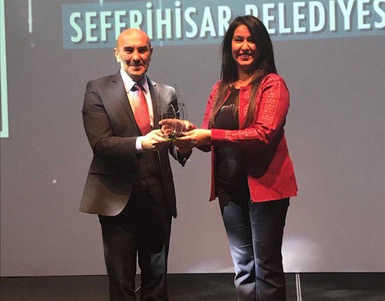 Seferihisar Mandalina Kurutma Tesisi'ne Ödül
