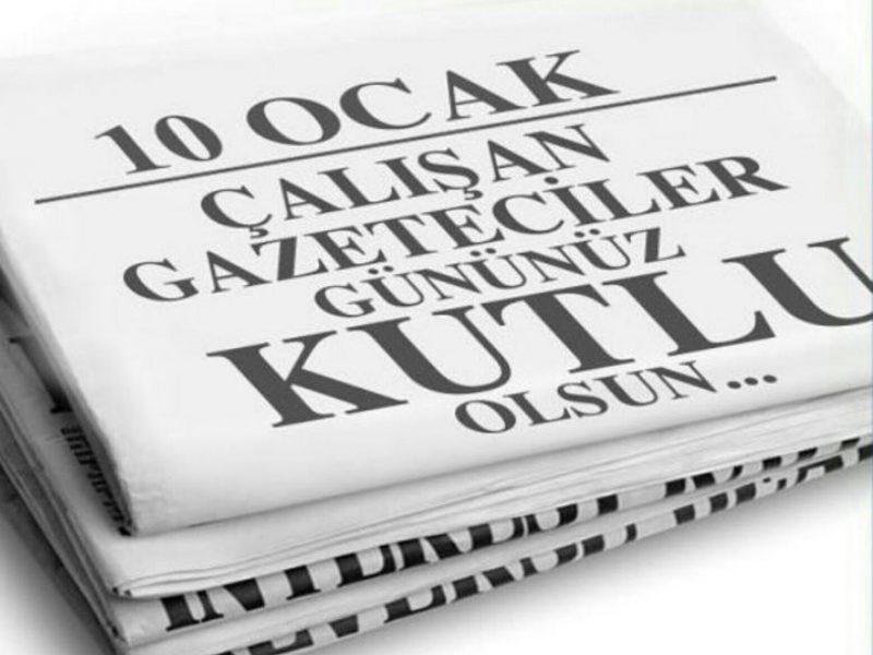 Başkan Soyer'in 10 Ocak Çalışan Gazeteciler Günü Mesajı