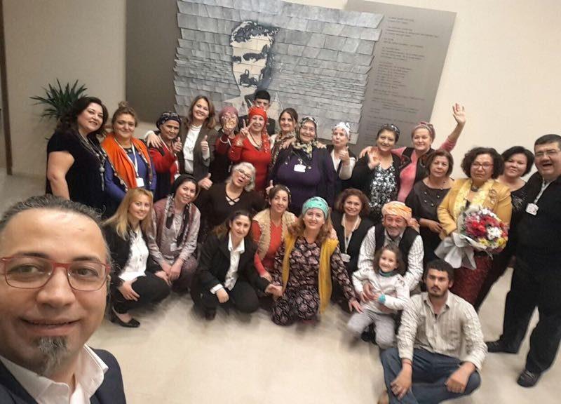 Ulamış Köy Tiyatrosu Yılmaz Güney Sahnesinde Ankaralılarla Buluştu