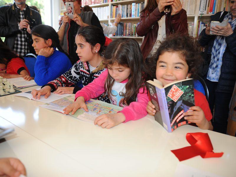 5 Bin Kitaplı Köy Kütüphanesi