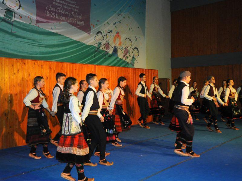 Halk Dansları Festivali Başladı