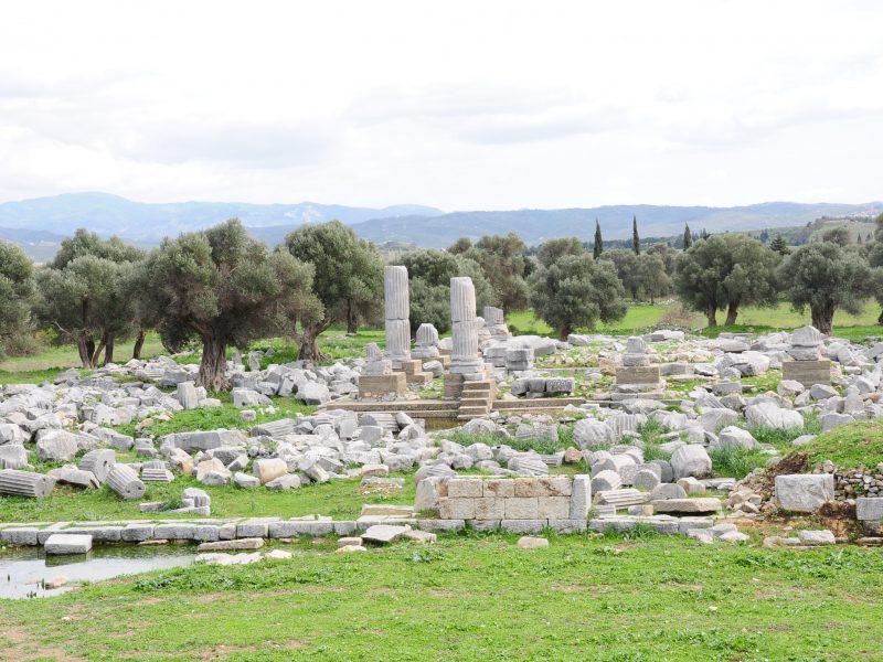 Tarihi Tapınak Ayağa Kalkıyor