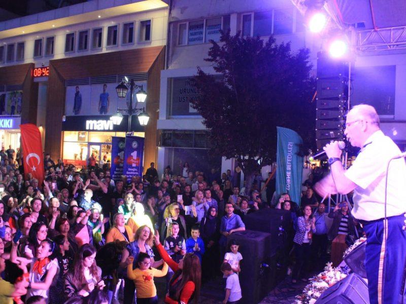 Seferihisar Belediye Bandosu Uluslararası Festivalde