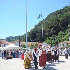 Samos'ta sıcak karşılama