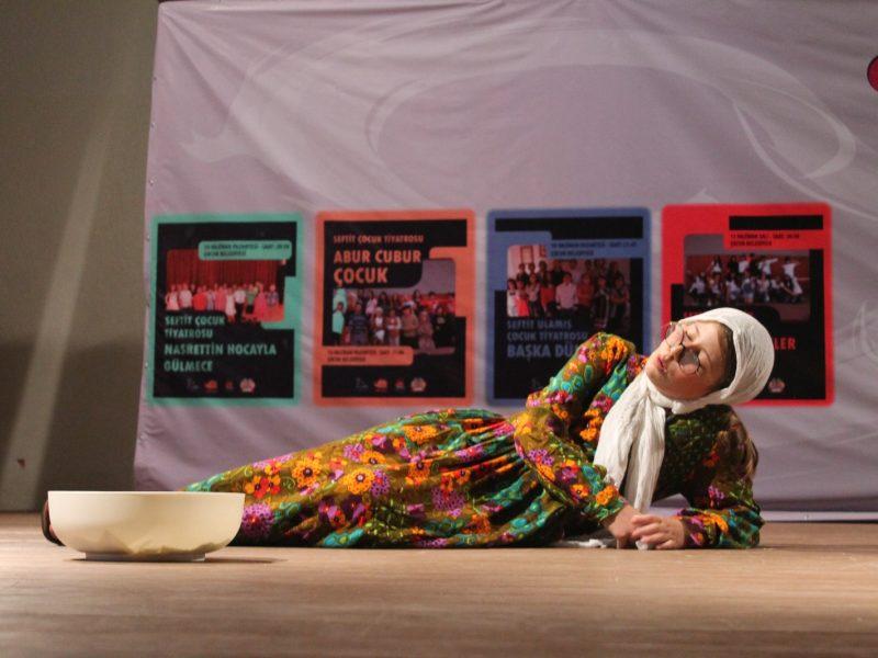 Seferihisar Belediyesi Çocuk Tiyatro Festivali Başladı