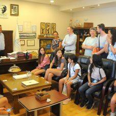 Berlin ve Seferihisar Çocuk Parlamentoları Aliağa'da buluştu