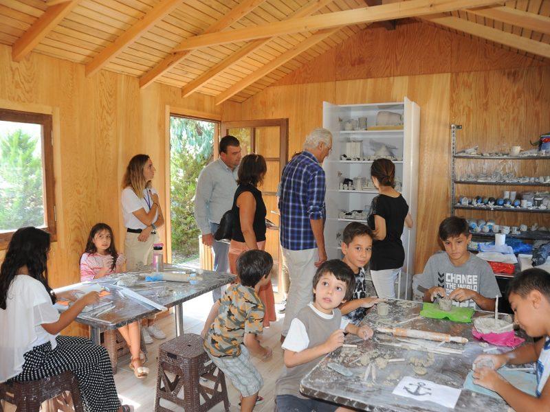 Milletvekili Güngör Yılmaz Seferihisar Çocuk Belediyesini ziyaret etti