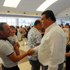 Seferihisar Belediyesi'nde bayramlaşma sevinci yaşandı