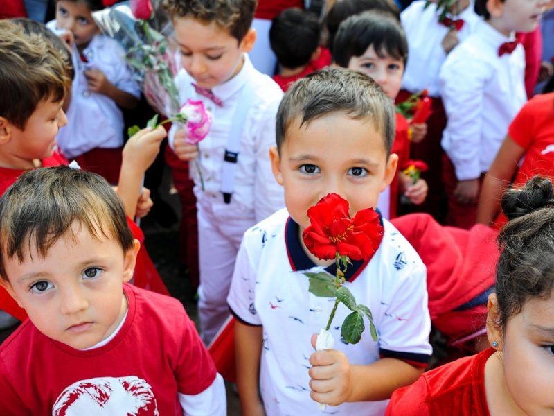 Cumhuriyetimizin 96.yılı tüm yurtta olduğu gibi Seferihisar'da da coşkuyla kutlanıyor