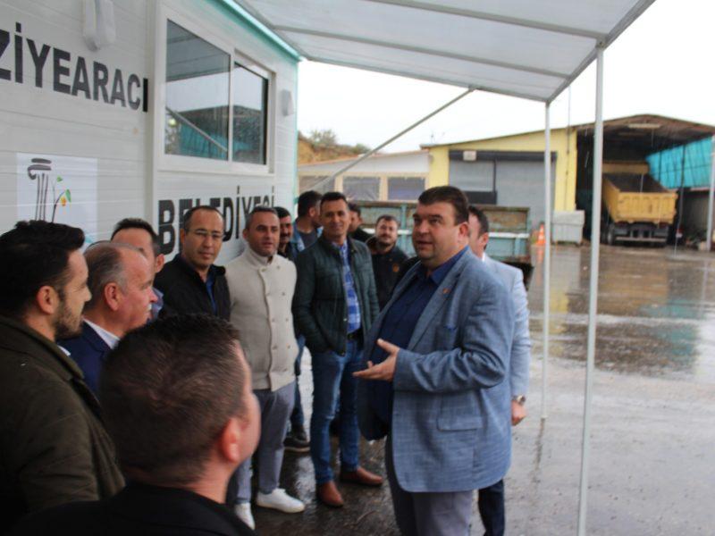 Seferihisar Belediyesine hayırseverlerden taziye karavanı desteği