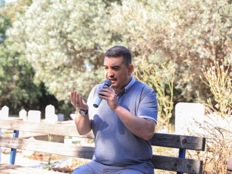 Seferihisar'da Ramazan Bayramı arefesinde dualar okundu