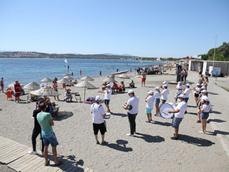 Deniz Bayramı'nda PlajdaBando Konseri