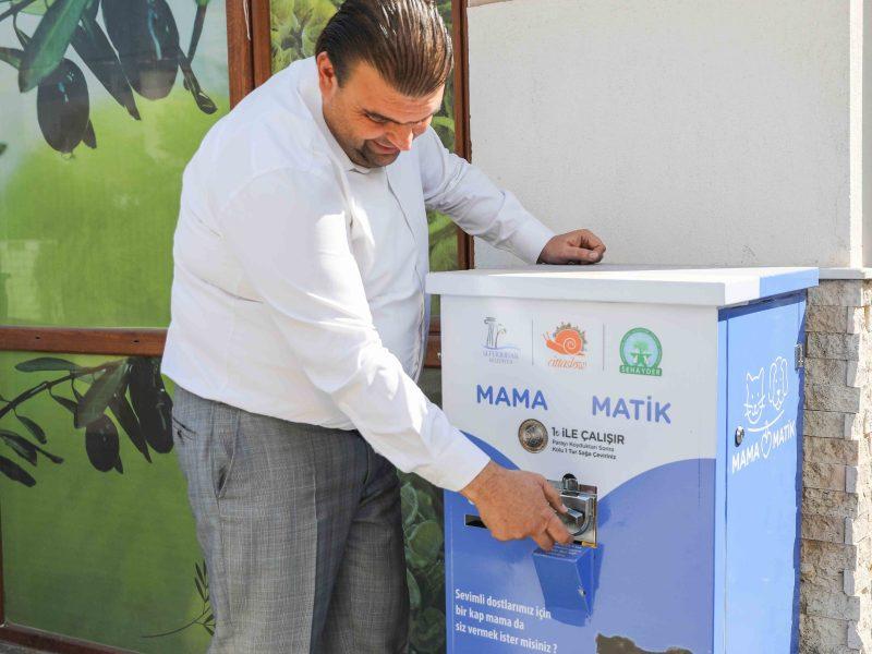 Seferihisar Belediyesi'nden Mamamatik uygulaması