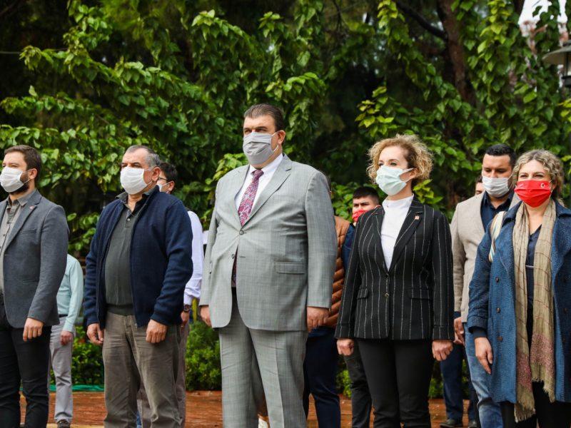 29 Ekim Cumhuriyet Bayramı Kaymakamlık makamında kutlandı
