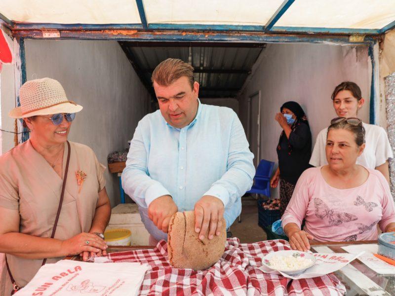 Ata Ekmeği ve Armola Şenliği binleri ağırladı Ata Ekmeği'nde rekor satış!