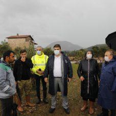Seferihisar'da sel felaketine karşı seferberlik