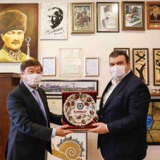 Türk Cumhuriyetleri  30. Yıl bağımsızlık sergisi Seferihisar'da açıldı