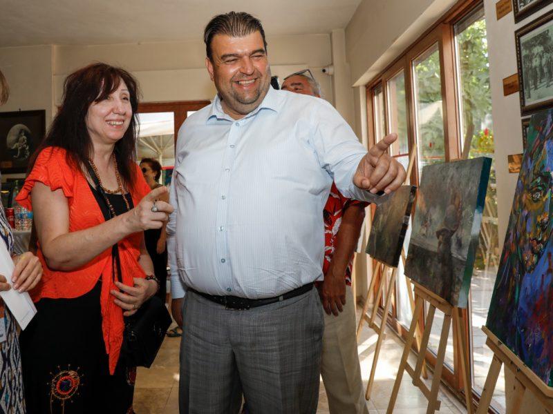 Seferihisar Belediyesi Uluslararası Resim Çalıştayı sona erdi